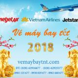 Giá vé máy bay tết 2018 những ngày cao điểm