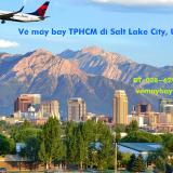 Vé máy bay TPHCM Sài Gòn đi Salt Lake City, Utah hãng Delta Airlines