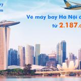 Vé máy bay Hà Nội đi Singapore (HAN-SIN) Vietnam Airlines từ 2.187k