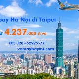 Vé máy bay Hà Nội đi Taipei, Đài Bắc (HAN-TPE) Vietnam Airlines 4237k