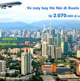 Vé máy bay Hà Nội đi Kuala Lumpur Vietnam Airlines (HAN-KUL) từ 2070k