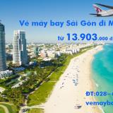 Vé máy bay Sài Gòn Miami (TPHCM đi Miami, MIA) Mỹ Qatar Airways
