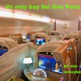 Vé máy bay Hồ Chí Minh - Paris (Sài Gòn đi Paris) của 7 hãng uy tín