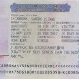 Hướng dẫn thủ tục xin Visa đi Đài Loan
