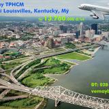Vé máy bay TPHCM đi Louisville, Kentucky American Airlines từ 13.760k