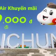 Vietjet Air khuyến mãi đi Đài Trung, Đài Loan tháng 3, tháng 4 từ 99k