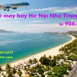 Vé máy bay Hà Nội Nha Trang, Cam Ranh giá rẻ tháng 5/2019 từ 906.000đ