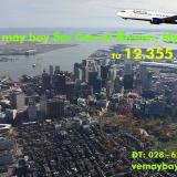Vé máy bay TPHCM đi Boston (Sài Gòn–Boston) Delta Airlines từ 12.355k