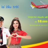 Vietjet khuyến mãi tháng 5/2020 với 3 triệu vé từ 18.000 đ