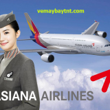 Cập nhật lịch bay TPHCM đi Incheon tháng 7/2020 hãngAsiana Airlines