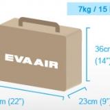 Quy định hành lý xách tay, hành lý ký gửi hãng Eva Air