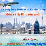 Giá vé máy bay Vietnam Airlines TPHCM đi Kuala Lumpur từ 1.615 k