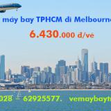 Vé máy bay TPHCM đi Melbourne (Sài Gòn - Melbourne) Vietnam Airlines