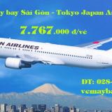 Vé máy bay Sài Gòn Tokyo (TPHCM – Tokyo) Japan Airlines từ 7.767k