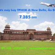 Vé máy bay TPHCM đi Delhi (Sài Gòn New Delhi) Thai Airways từ 7.285k