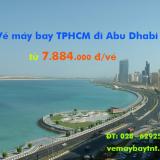 Vé máy bay TPHCM đi Abu Dhabi (Sài Gòn – Abu Dhabi) Vietnam Airlines