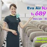 Eva Air khuyến mãi vé máy bay TPHCM đi San Francisco khứ hồi 689 USD