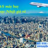 Vé máy bay Du Học sinh Nhật Japan Airlines giá rẻ tại vemaybaytnt.com
