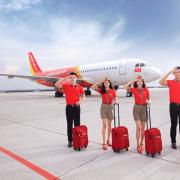 Vietjet Air mở lại 14 chặng bay nội địa từ 10/10/2021